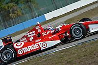 Scott Dixon, Sebring test, 2/19/2013
