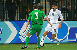 Branko Ilic (18) during the fourth round qualification game of 2010 FIFA WORLD CUP SOUTH AFRICA in Group 3 between Slovenia and Northern Ireland at Stadion Ljudski vrt, on October 11, 2008, in Maribor, Slovenia.  (Photo by Vid Ponikvar / Sportal Images)