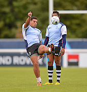 English born Josh Matevasi during the Fiji Training Session in preparation for the Rugby World Cup at London Irish RFC, Sunbury-On-Thames, United Kingdom on 14 September 2015. Photo by Ian Muir. during the Fiji Training Session in preparation for the Rugby World Cup at London Irish RFC, Sunbury-On-Thames, United Kingdom on 14 September 2015. Photo by Ian Muir.