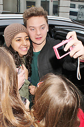 Conor Maynard at Radio 2© Licensed to London News Pictures. Photo credit : Brett D. Cove/Piqtured/LNP