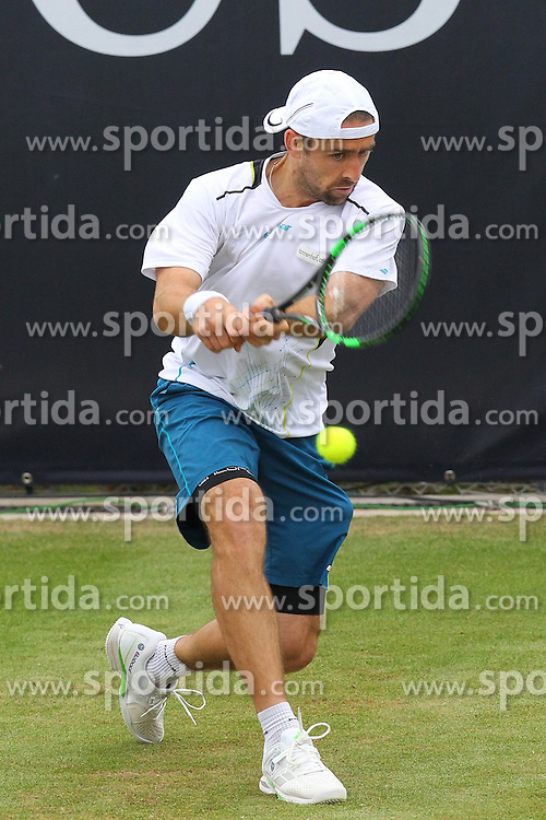 09.06.2015, Tennis Club Weissenhof, Stuttgart, GER, ATP Tour, Mercedes Cup Stuttgart, im Bild Benjamin Becker ( GER ) // during the Mercedes Cup of ATP world Tour at the Tennis Club Weissenhof in Stuttgart, Germany on 2015/06/09. EXPA Pictures &copy; 2015, PhotoCredit: EXPA/ Eibner-Pressefoto/ Langer<br /> <br /> *****ATTENTION - OUT of GER*****