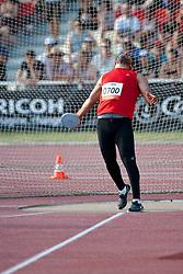 SAID Abdurraouf, LBA, Discus, F44, 2013 IPC Athletics World Championships, Lyon, France
