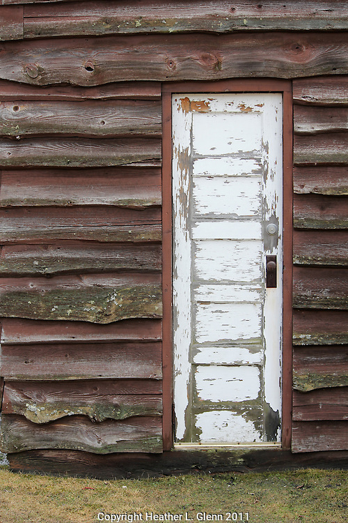 Weathered Door in Stowe, Vermont