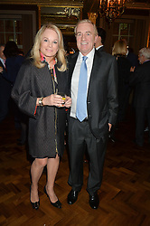 SIR PETER & LADY LAMPL at a reception to celebrate the Debrett's 500 2015 - a recognition of Britain's 500 most influential people, held at The Club at The Cafe Royal, 68 Regent Street, London on 26th January 2015.
