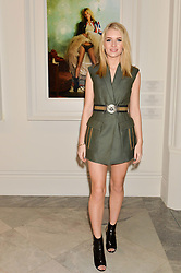 LOTTIE MOSS at the Alexandra Shulman and Leon Max hosted opening of Vogue 100: A Century of Style at The National Portrait Gallery, London on 9th February 2016.