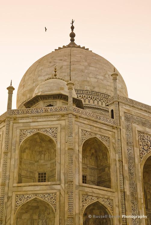 The Taj Mahal in Agra, Uttar Pradesh, India