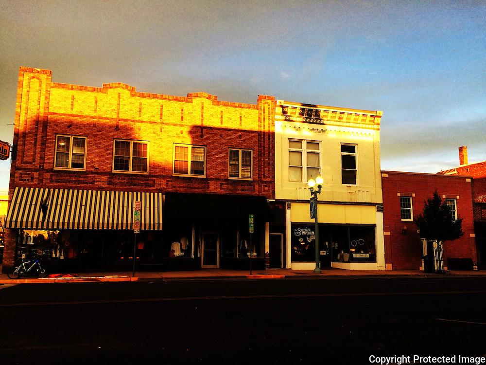 Laramie at Sunset