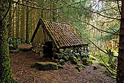 Old farm-building used for storing sheeps and other animals.  From Hidra in southern Norway.