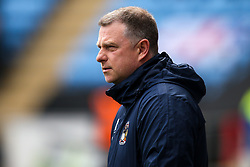 Coventry City manager Mark Robins - Mandatory by-line: Robbie Stephenson/JMP - 07/04/2019 - FOOTBALL - Ricoh Arena - Coventry, England - Coventry City v Bristol Rovers - Sky Bet League One
