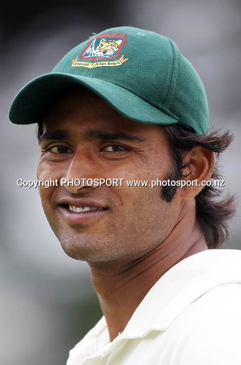 Shahadat Hossain.<br />Day 4. Test match cricket. One off test.<br />New Zealand Black Caps versus Bangladesh.<br />Seddon Park, Hamilton, New Zealand.<br />Thursday 18 February 2010.<br />Photo: Andrew Cornaga/PHOTOSPORT