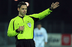 Referee Damir Skomina at 27th Round of Slovenian First League football match between ND Hit Gorica and NK Primorje Ajdovscina in Sports park Nova Gorica, on April 8, 2009, in Nova Gorica, Slovenia. (Photo by Vid Ponikvar / Sportida)