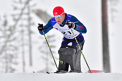 CNOSSEN Daniel, USA, LW12 at the 2018 ParaNordic World Cup Vuokatti in Finland