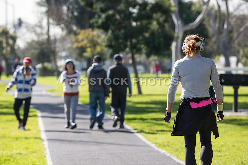 Active Adults at Rosemead Park