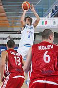DESCRIZIONE : Gorizia Europeo Under 20 Italia Bulgaria <br /> GIOCATORE : Ariel Filloy<br /> SQUADRA : Nazionale Italiana Maschile Under 20 <br /> EVENTO : Campionato Europeo Under 20 <br /> GARA : Italia Bulgaria <br /> DATA : 06/07/2007 <br /> CATEGORIA : Tiro <br /> SPORT : Pallacanestro <br /> AUTORE : Agenzia Ciamillo-Castoria/S.Silvestri <br /> Galleria : Europeo Under 20 <br /> Fotonotizia : Goriza Campionato Europeo Under 20 Italia Bulgaria <br /> Predefinita :