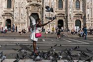 Piazza del Duomo, Milan, Italy / Plaza del Duomo, Mián, Italia