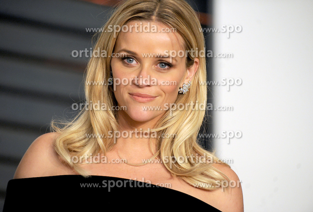 Reese Witherspoon in attendance for 2015 Vanity Fair Oscar Party Hosted By Graydon Carter at Wallis Annenberg Center for the Performing Arts on February 22, 2015 in Beverly Hills, California. EXPA Pictures &copy; 2015, PhotoCredit: EXPA/ Photoshot/ Dennis Van Tine<br /> <br /> *****ATTENTION - for AUT, SLO, CRO, SRB, BIH, MAZ only*****
