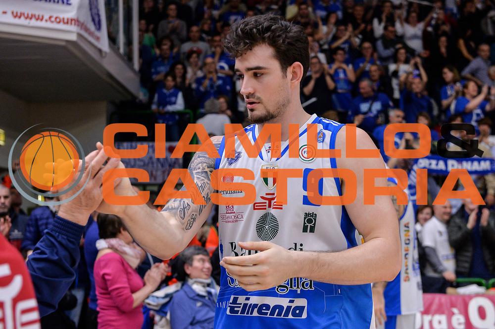 DESCRIZIONE : Beko Legabasket Serie A 2015- 2016 Playoff Quarti di Finale Gara3 Dinamo Banco di Sardegna Sassari - Grissin Bon Reggio Emilia<br /> GIOCATORE : Joe Alexander<br /> CATEGORIA : Fair Play Postgame Ritratto Delusione<br /> SQUADRA : Dinamo Banco di Sardegna Sassari<br /> EVENTO : Beko Legabasket Serie A 2015-2016 Playoff<br /> GARA : Quarti di Finale Gara3 Dinamo Banco di Sardegna Sassari - Grissin Bon Reggio Emilia<br /> DATA : 11/05/2016<br /> SPORT : Pallacanestro <br /> AUTORE : Agenzia Ciamillo-Castoria/L.Canu