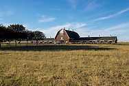 Sheep Barn used for research and extension at the Oklahoma State University Division of Agricultural Sciences and Natural Resources department of Animal Sciences.