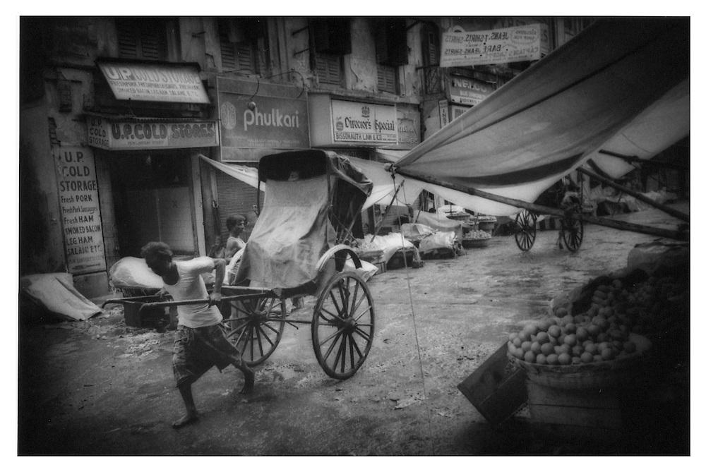 Rickshaw Wallah, Calcutta