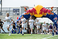 University of Colorado takes on the University of Denver at Red Bull Uni 7s Rugby Qualifiers at Infinity Park in Glendale, CO, USA, on 25 August, 2016.