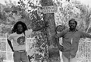 Nine Miles security at Bob Marleys birthplace