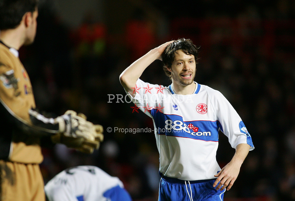 London, England - Saturday, January 13, 2007: Middlesbrough's Malcolm Christie against Charlton Athletic during the Premiership match at the Valley. (Pic by Chris Ratcliffe/Propaganda)