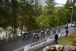 Team Virtu Cycling Women at UCI Road World Championships 2018 - Women's Team Time Trial, a 54 km team time trial in Innsbruck, Austria on September 23, 2018. Photo by Sean Robinson/velofocus.com