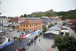 Pauliena Rooijakkers (NED) of Parkhotel Valkenburg - Destil Cycling Team approaches the finish during the prologue of the Ladies Tour of Norway - a 3.4 km time trial, starting and finishing in Halden on August 17, 2017, in Ostfold, Norway. (Photo by Balint Hamvas/Velofocus.com)