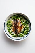 Sardine, Pea Shoot & Celeriac Salad from the fridge (m€)