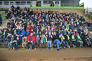 Cub scouts visiting the club during the Vanarama National League match between Forest Green Rovers and Dover Athletic at the New Lawn, Forest Green, United Kingdom on 17 December 2016. Photo by Shane Healey.