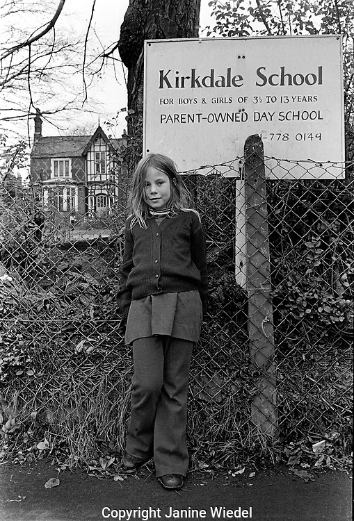 Kirkdale Free School a parent own school in Sydenham 1972
