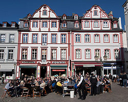 View of Jesuitenplatz or Jesuit Square in Koblenz Germany