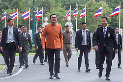 January 30, 2018 - Thailand - Thai Prime Minister Prayut Chan-o-cha arrives for a weekly cabinet meeting at the Government House in Bangkok. (Credit Image: © Vichan Poti/Pacific Press via ZUMA Wire)