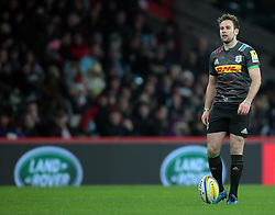 December 27, 2016 - London, England, United Kingdom - Harlequins Ruaridh Jackson during Aviva Premiership Rugby Big Game 9 match between Harlequins and Gloucester Rugby at The Twickenham Stadium, London on 27 Dec 2016  (Credit Image: © Kieran Galvin/NurPhoto via ZUMA Press)