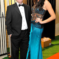 -FREE PICTURE / NO REPRODUCTION FEE-.Pictured at the annual Black and White Ball in the Blue Haven Hotel, Kinsale were Ciaran Fitzgerald, Blue Haven with Miss Cork jean Kenny..Pic. John Allen