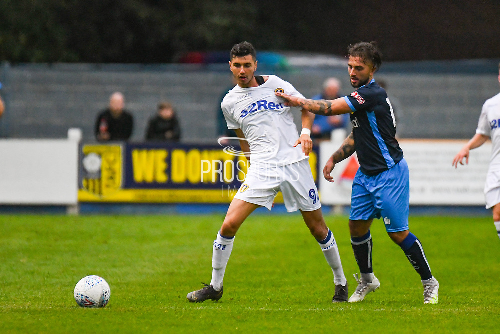 Leeds United Rafa Mujica (9) during the Pre-Season Friendly match between Tadcaster Albion and Leeds United at i2i Stadium, Tadcaster, United Kingdom on 17 July 2019.