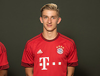 German Soccer Bundesliga 2015/16 - Photocall of FC Bayern Munich on 16 July 2015 in Munich, Germany: Sinan Kurt
