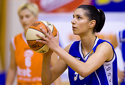 Ivona Matic at finals match of Slovenian 1st Women league between KK Hit Kranjska Gora and ZKK Merkur Celje, on May 14, 2009, in Arena Vitranc, Kranjska Gora, Slovenia. Merkur Celje won the third time and became Slovenian National Champion. (Photo by Vid Ponikvar / Sportida)