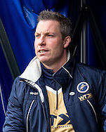 Millwall Manager Neil Harris during the FA Cup match at The Den, London<br /> Picture by Liam McAvoy/Focus Images Ltd 07413 543156<br /> 29/01/2017