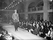 Men's Fashion Show at the Gresham Hotel..12.04.1961