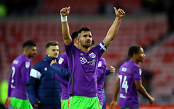 Bailey Wright of Bristol City celebrates the win over Sunderland - Mandatory by-line: Robbie Stephenson/JMP - 28/10/2017 - FOOTBALL - Stadium of Light - Sunderland, England - Sunderland v Bristol City - Sky Bet Championship