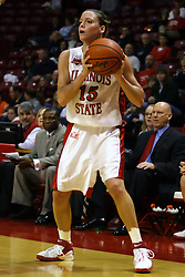 17 December 2006: Megan McCracken. In a non-conference game, the Eagles of Eastern Michigan  lost by a score of 68-55 to the Redbirds in Redbird Arena on the campus of Illinois State University in Normal Illinois.<br />