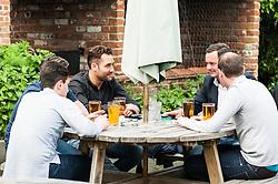 Customers enjoying themselves at The Hoop Beer Festival. Essex