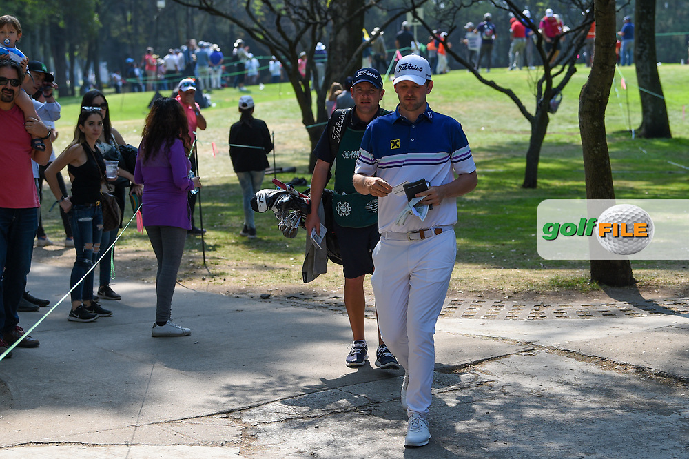 Bubba Watson (USA) approaches the green tee on 3 during Rd4 of the World Golf Championships, Mexico, Club De Golf Chapultepec, Mexico City, Mexico. 2/23/2020.<br /> Picture: Golffile | Ken Murray<br /> <br /> <br /> All photo usage must carry mandatory copyright credit (© Golffile | Ken Murray)
