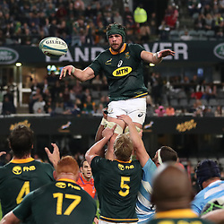 DURBAN, SOUTH AFRICA - AUGUST 18: Warren Whiteley of South Africa during the Rugby Championship match between South Africa and Argentina at Jonsson Kings Park on August 18, 2018 in Durban, South Africa. (Photo by Steve Haag/Gallo Images)
