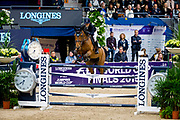Irma Karlsson - Ida van de Bisschop<br /> FEI World Cup Final Gothenburg 2019<br /> &copy; DigiShots