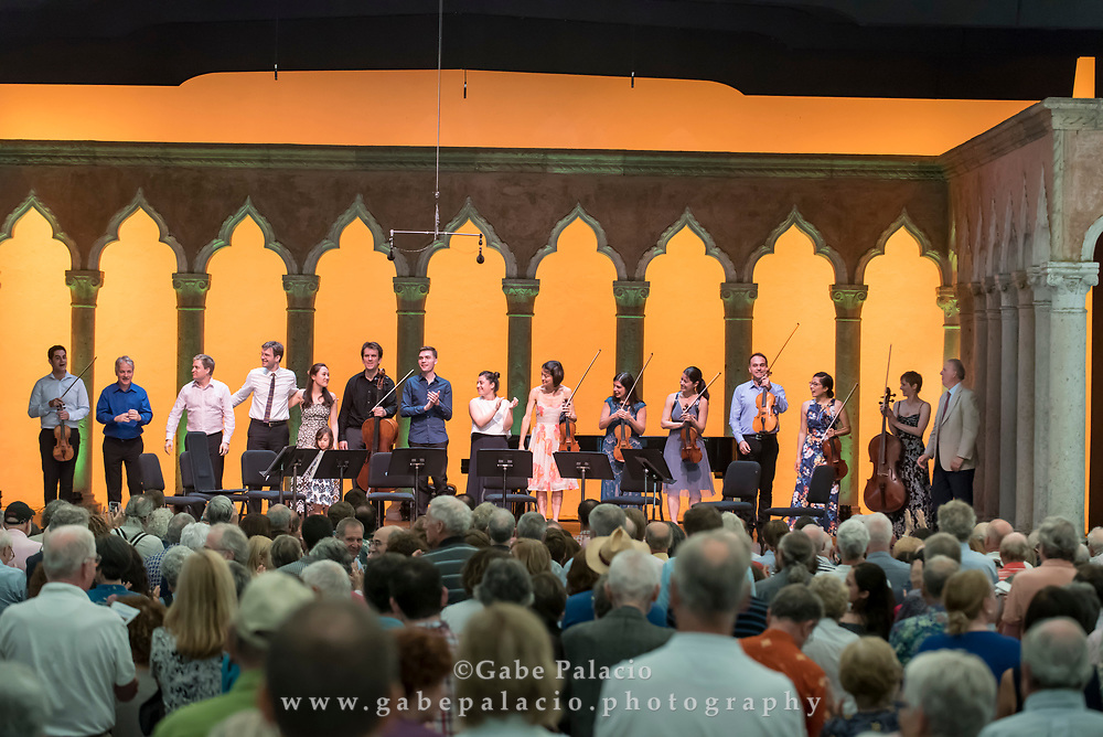A Chamber Feast in Three Courses<br /> Honoring Caramoor's longtime Managing Director Paul Rosenblum at Caramoor in Katonah New York on June 25, 2017. <br /> (photo by Gabe Palacio)
