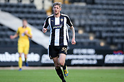 Notts County forward Jonathan Stead (30) in action  during the EFL Sky Bet League 2 match between Notts County and Morecambe at Meadow Lane, Nottingham, England on 9 September 2017. Photo by Simon Davies.
