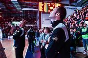 Sergio Noce<br /> Banco di Sardegna Dinamo Sassari - Dolomiti Energia Trentino Trento<br /> LBA Legabasket Serie A 2019-2020<br /> Sassari, 25/01/2020<br /> Foto L.Canu / Ciamillo-Castoria