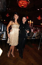 Left to right, model KELLY BROOK and LULU GUINNESS at the 6th annual Lancome Colour Design Awards in association with CLIC Sargent Cancer Care held at Lindley Hall, Victoria, London on 28th November 2006.<br />